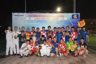[22.09.2018] Chung kết bóng đá nam Goshi-Thăng Long 2018.