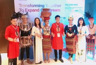 Tham dự đại hội báo cáo nhóm NHC khối AOB tại Philippines