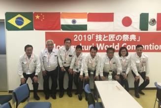 Tham dự Đại hội Monozukuri Thế giới tại Yachiyo Nhật Bản