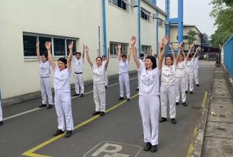 [14.11.2020] Video dự thi về hoạt động tập thể dục tại Công ty Goshi – Thăng long.